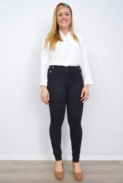 leggings tallas grandes mujer,leguins mujer,leggins negros,leggings mujer,Leggings Mujer Botones