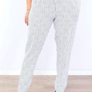 Pantalón Estampado Rayas Mujer