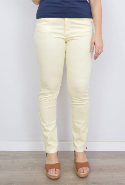 pantalones de verano mujer,tejanos de moda mujer,vaqueros de colores mujer,pantalones de moda,Pantalón Vaquero Mujer Amarillo