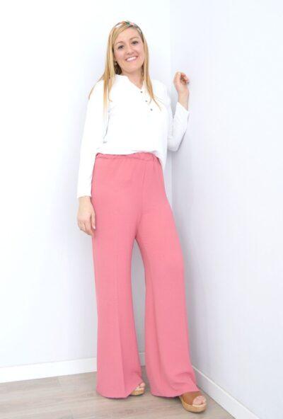 pantalon de vestir mujer,pantalones palazzo,pantalones de verano mujer,pantalones anchos tallas grandes,pantalon pata ancha,Pantalón Pata de Elefante