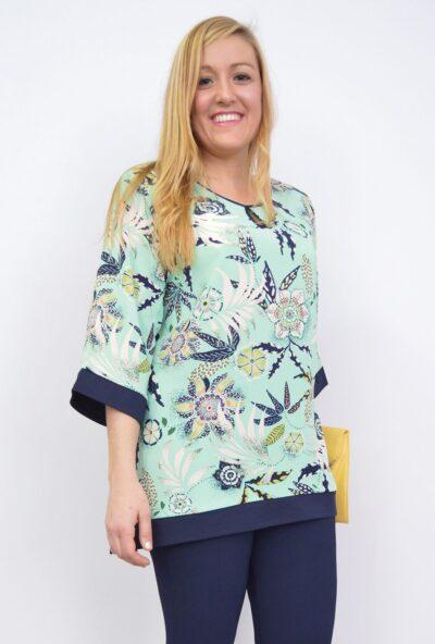 blusas-tallas-grandes,camisetas-tallas-grandes-de-mujer,casaca-mujer-tallas-grandes,Blusa Estampada Tallas Grandes