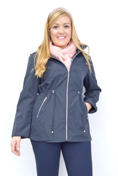 chaquetas-de-mujer,parkas-de-mujer,impermeable-de-mujer-económico,chaqueta-reversible,Cortavientos Reversible de Mujer
