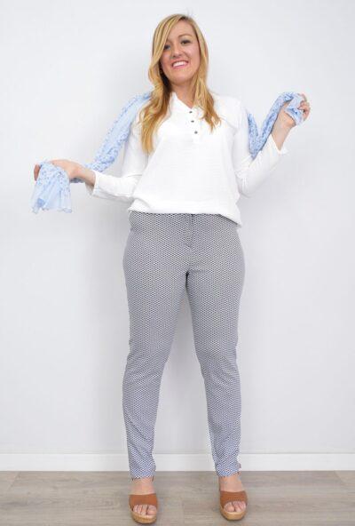 ropa-de-mujer-tallas-grandes,pantalones-de-mujer-tallas-grandes,pantalones tiro alto,pantalones estampados mujer,Pantalón Estampado de Vestir