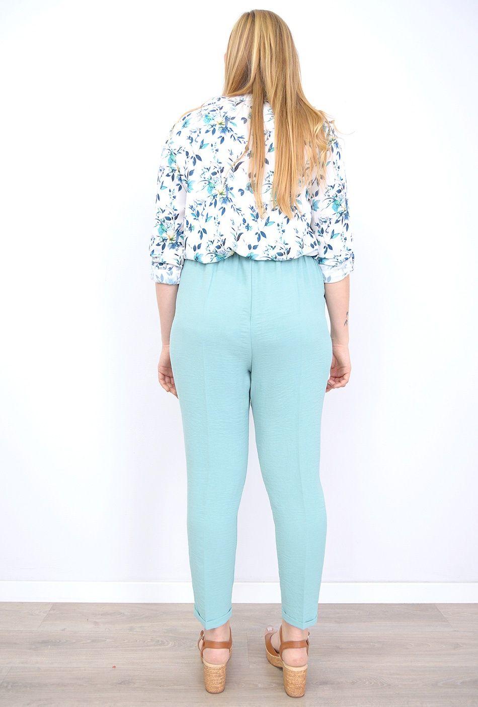 tallas-grandes-de-mujer,moda-tallas-grandes-mujer,moda-curvy,blusas-estampadas-mujer,Camisa de Mujer Primavera