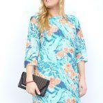 vestidos-estampados,ropa-mujer-economica,vestidos-encaje-vestidos-de-señora,vestidos-blonda,Vestido Estampado Floreado Encaje