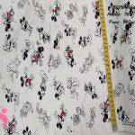 mickey-mouse-disney-tejidos-estampado-popelin,Tejido Estampado Disney Mickey Mouse Boceto