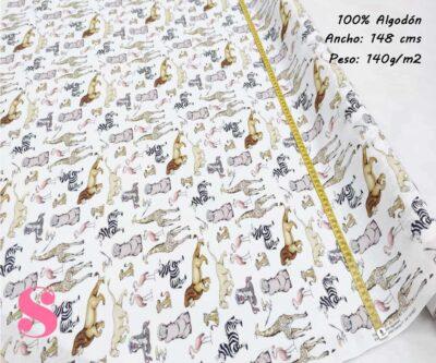 154-rey-león--disney-tejidos-estampado-popelin,Tejido Estampado Disney El Rey León