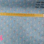 168-lunares-azul-tejidos-estampados,Tejido Estampado Cohetes