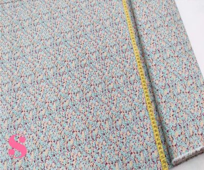 182-florecitas-estampado-patchwork-tejidos-algodon-popelin,Tela Patckwork Florecitas