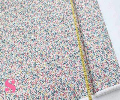 184-florecitas--rosa-estampado-patchwork-tejidos-algodon-popelin,Tela Patckwork Florecillas