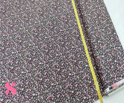 186-florecitas-negro-estampado-patchwork-tejidos-algodon-popelin,Patch Florecitas Liberty fondo Negro