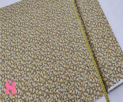189-florecitas-amarilla-estampado-patchwork-tejidos-algodon-popelin,Pacht Florecillas Liberty fondo Amarillo
