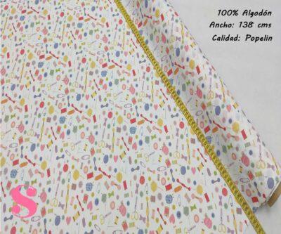 265-motivos-costura-blanco-tejidos-algodón-estampado-popelin,Tejido Estampado Costura Blanco