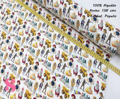 271-juguetes-niños-tejidos-algodón-estampado-popelin,Tejido Estampado Juguetes