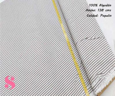 277-rayas-grises-pareo-tejidos-algodón-estampado-popelin, Telas de Algodón Estampadas