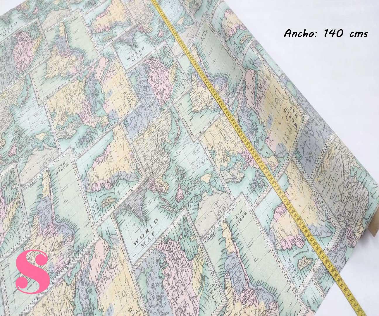301-paises-mundo-mantel-estampado-hules-antimanchas-facil-lavado,Mantel Paises Mundo Resinado Antimanchas