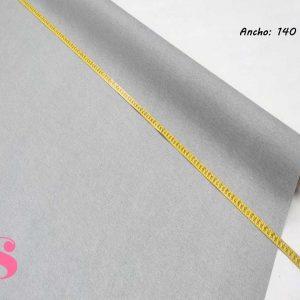 304 Mantel Gris Aluminio Resinado Antimanchas