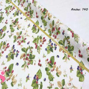 306 Mantel Frutas de Moras Resinado Antimanchas