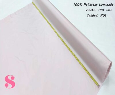 315-pul-rosa-malva-tejidos-poliéster-laminado,tejidos impermeables y transpirables,Tela Pul Rosa Bebé