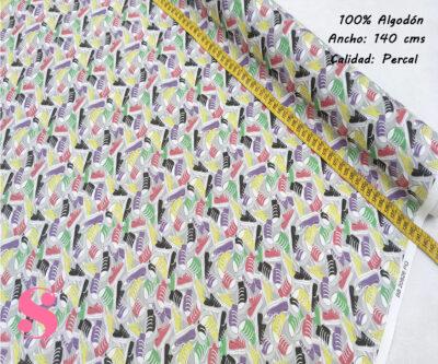 417-zapatillas-tejidos-algodón-estampado-percal,Percal Estampado Zapatillas