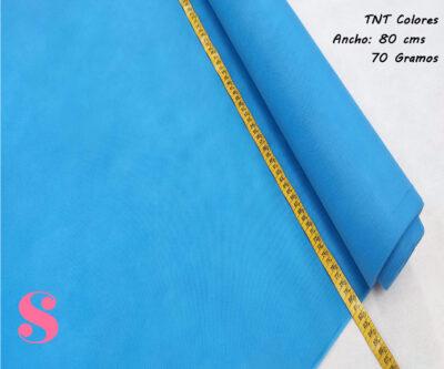 5 METROS Tela TNT Azul Pitufo,tnt-azul-pitufo-tejido-no-tejido-proteccion-virus-seguro