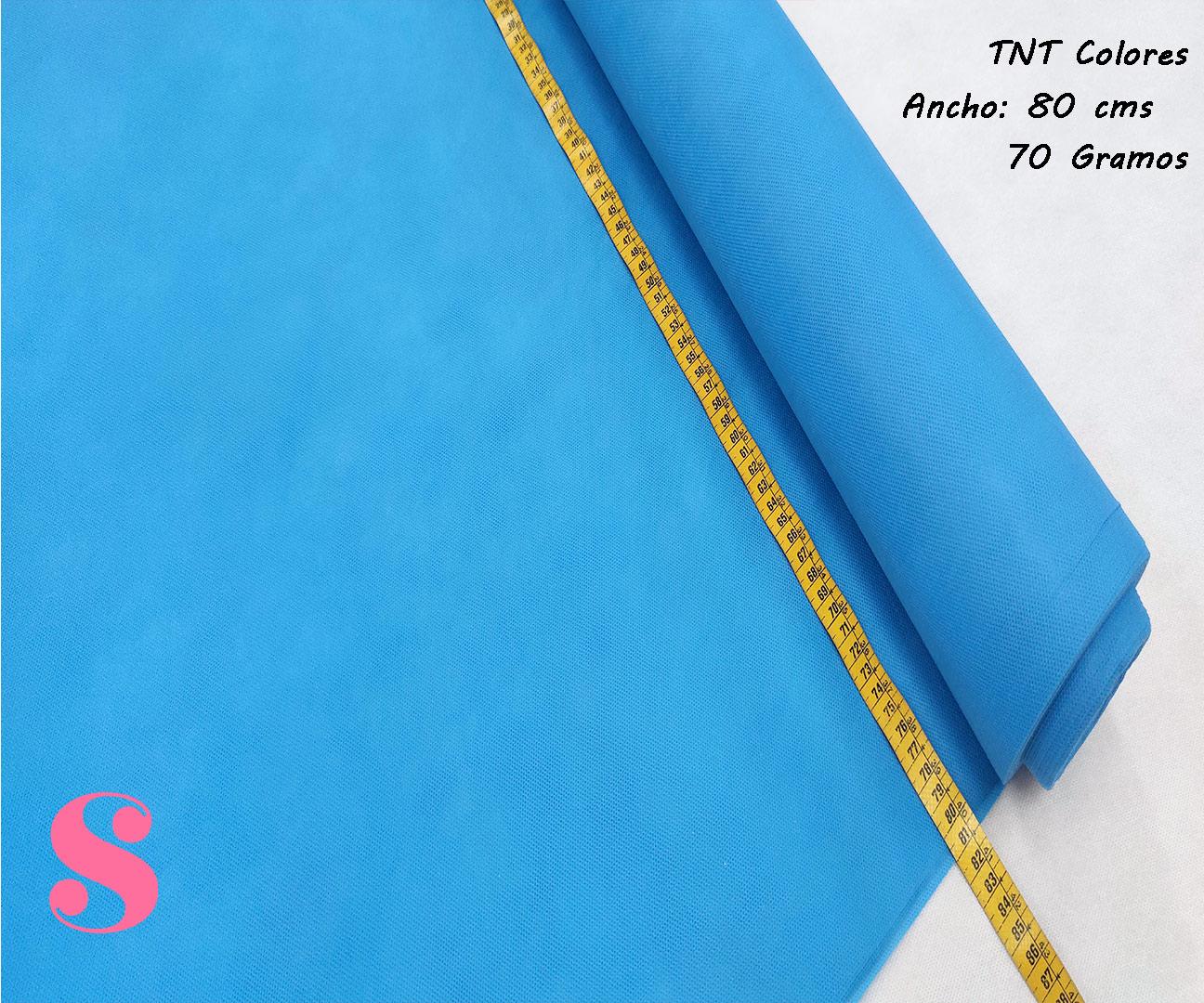 Rollo 25 METROS Tela TNT Azul Pitufo,Tela TNT es el tejido que estas buscando, te lo mandamos a casa en 24/48h. Ideal para elaboracion de mascarillas, Disfraces... 5 METROS Tela TNT Amarillo,tnt-azul-pitufo-tejido-no-tejido-proteccion-virus-seguro