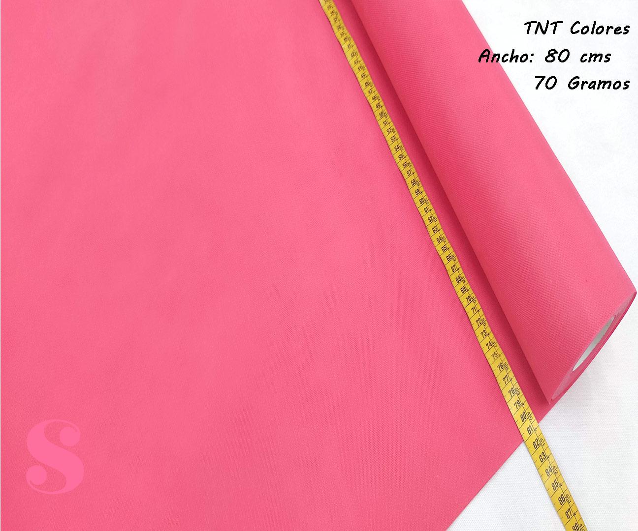 Rollo 25 METROS Tela TNT Rosa Fresa,tnt-fresa-tejido-no-tejido-proteccion-virus-seguro