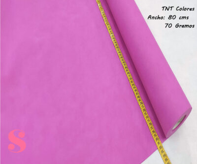 5 METROS Tela TNT Fucsia,tnt-fucsiatejido-no-tejido-proteccion-virus-seguro