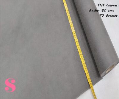 5 METROS Tela TNT Gris Grafita,tnt-gris-grafito-tejido-no-tejido-proteccion-virus-seguro,rollo de 25 mtrs Gris Antracita
