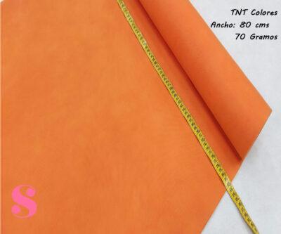 Rollo 25 METROS Tela TNT Naranja,tnt-naranja-tejido-no-tejido-proteccion-virus-seguro