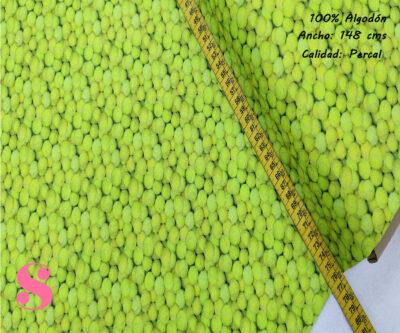 442-pelotas-tenis-deportes-tejidos-algodón-estampado-percal,Tejido Algodón Estampado Pelotas de Tenis