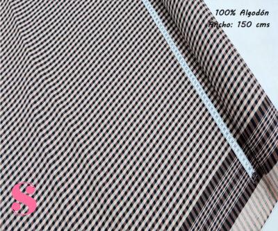 502-pañuelo-cuadros-pequeños--tejidos-algodón-estampado-percal,Tejido Pañuelo Cuadros Regional