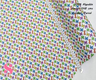 511-mariposas-colorines-tejidos-algodón-estampado-percal,Tejido Estampado Mariposas