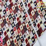 N4-motivos-navidad-cuadros-otoño-cenas-manteleria-decoracion-tejidos-algodón-estampado-percal,Tejido Estampado PatchWork Motivos Navidad Cuadros