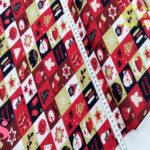 N5-motivos-navidad-papa-noel-otoño-cenas-manteleria-decoracion-tejidos-algodón-estampado-percal,Tejido Estampado PatchWork Motivos Navidad Papa Noel