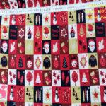 motivos-navidad-papa-noel-otoño-cenas-manteleria-decoracion-tejidos-algodón-estampado-percal,Tejido Estampado PatchWork Motivos Navidad Papa Noel