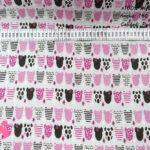 ositas-rosas-tejidos-algodón-estampado-percal,Tejido Estampado Ositas tonos Rosas