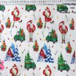 N3-papa-noel-regalos-navidad-otoño-frio-friki--tejidos-algodón-estampado-percal,Tejido Estampado Papa Noel Regalos