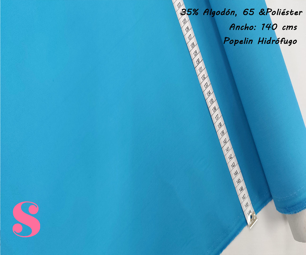 popelin-hidrofugo-antibacteriano-repelente-impermeable,Popelín Hidrófugo Antibacteriano Azul