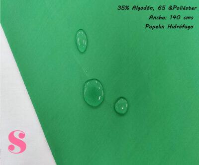 popelin-hidrofugo-prueba-antibacteriano-repelente-impermeable,Popelín Hidrófugo Antibacteriano Verde