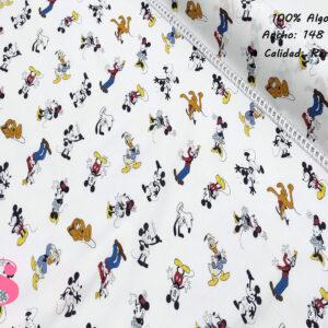 553 Tejido Estampado Mickey Mouse y Amigos