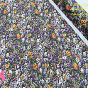 557 Tejido Estampado Complementos Halloween