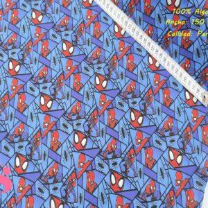 569 Tejido Estampado Spiderman Espejo