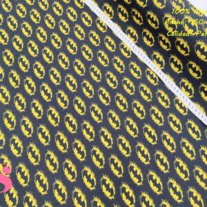579 Tejido Estampado Batman Símbolo