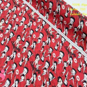 584 Tejido Estampado Betty Boop