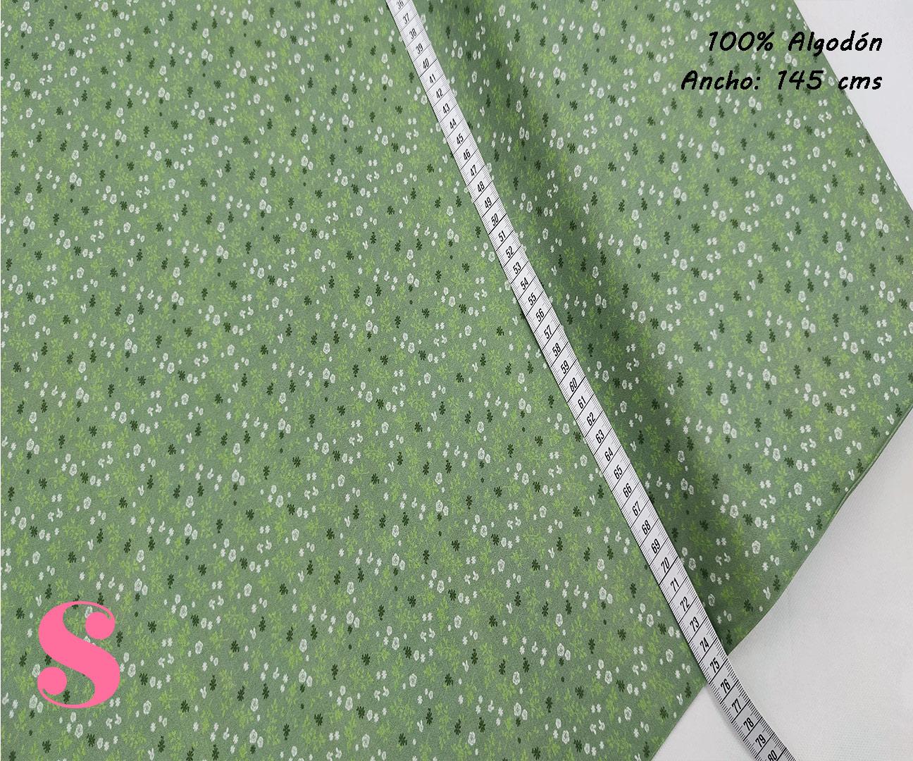 F19-florecitas-liberty-fondoverde-mujer-tejidos-algodón-estampado-popelin,Tejido Estampado Florecitas Liberty Fondo Verde E2