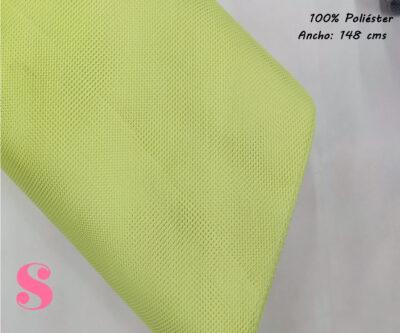 R1-verde-tela-de-rejlla-malla-poliester-facilidad-de-coser,Tela Mesh de Rejilla Verde Pistacho, tela de malla
