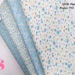 F12-rosas-liberty-azules-mujer-tejidos-algodón-estampado-popelin,Tejido Estampado Florecitas Liberty Celeste E1