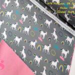 unicornio-fondo-gris-soft-shell-estrellas-rayas-poliester-Sudaderas-prenda-de-vestir-en-casa-mantas-y-antipilling,Soft Shell Estampado Unicornio