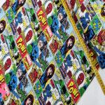 592-comic-marvel-accion-america-franela-otoño-invierno-tejidos-algodón-estampado-percal,telas frikis,Franela Estampada Comic Marvel